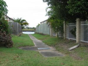 Drainage easement